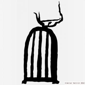 Kleiderschrank - Zeichnung - Blackshape Anatomy