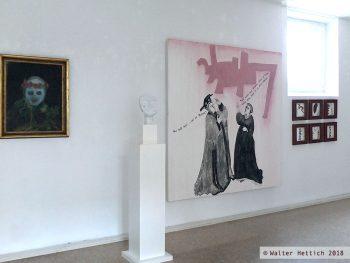 Die tiburtinische Sybille erklärt die Form - Kunstraum Rosenstraße
